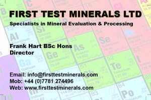 First Test Minerals Limited