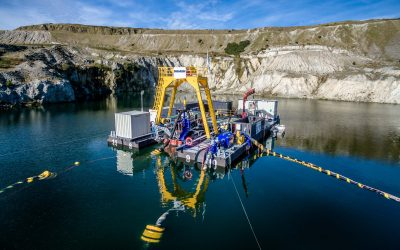 Underwater Mining Trials in the South West