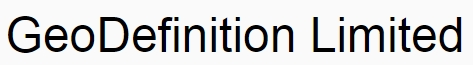 GeoDefinition Ltd
