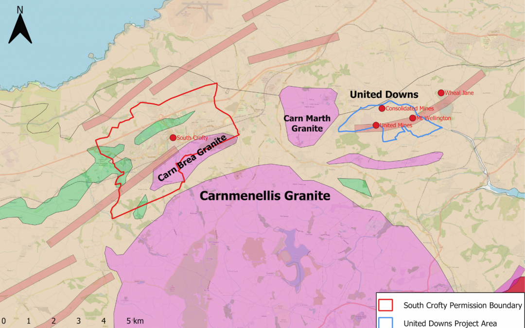 Cornish Metals to float on AIM to raise £5 million to advance the United Downs Copper-Tin project