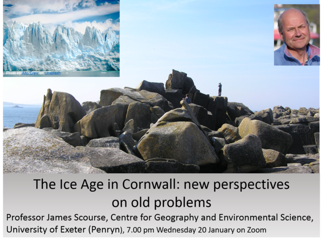 RGSC Ice Age in Cornwall poster