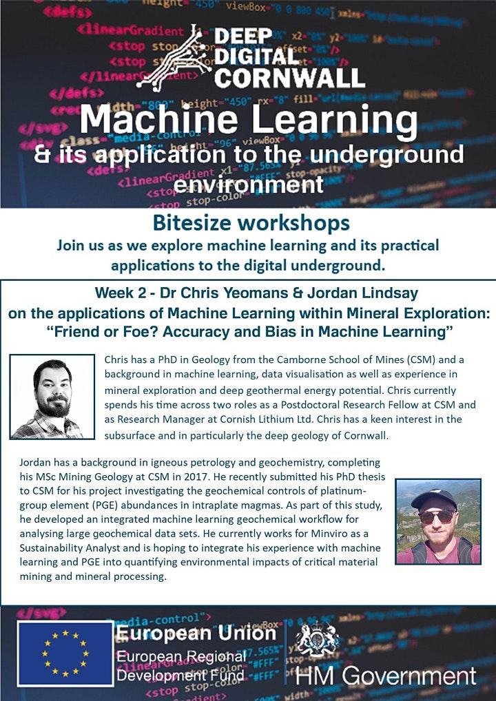 Deep Digital Cornwall machine learning workshop